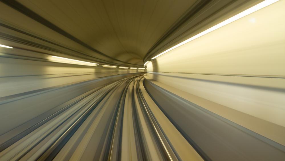 Dubai Metro Tunnel wallpaper