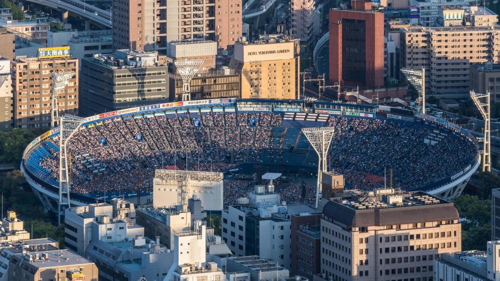 Yokohama Stadium wallpaper