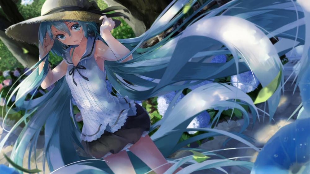 Hatsune Miku, Vocaloid wallpaper
