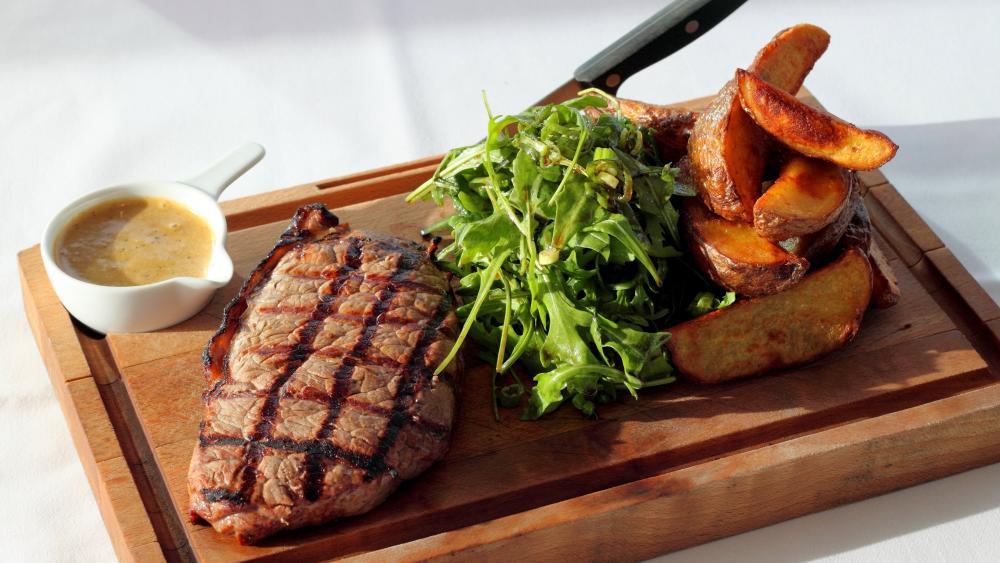 Grilled Steak wallpaper