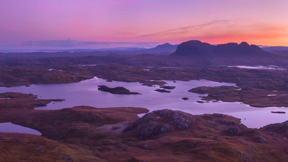 Scottish Highlands wallpaper