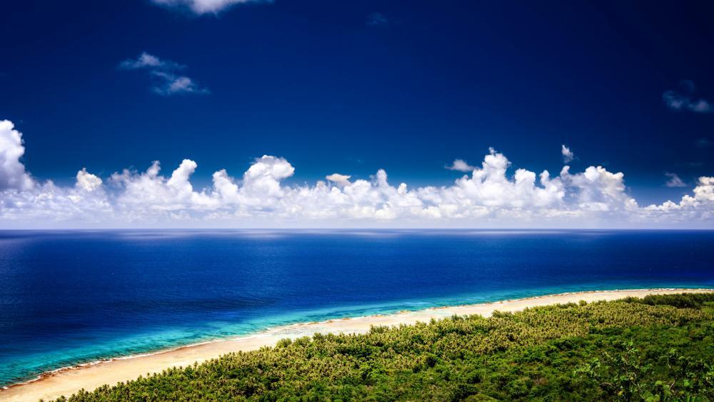 Beach Guam wallpaper