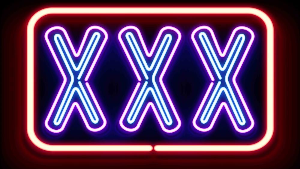 Neon XXX wallpaper