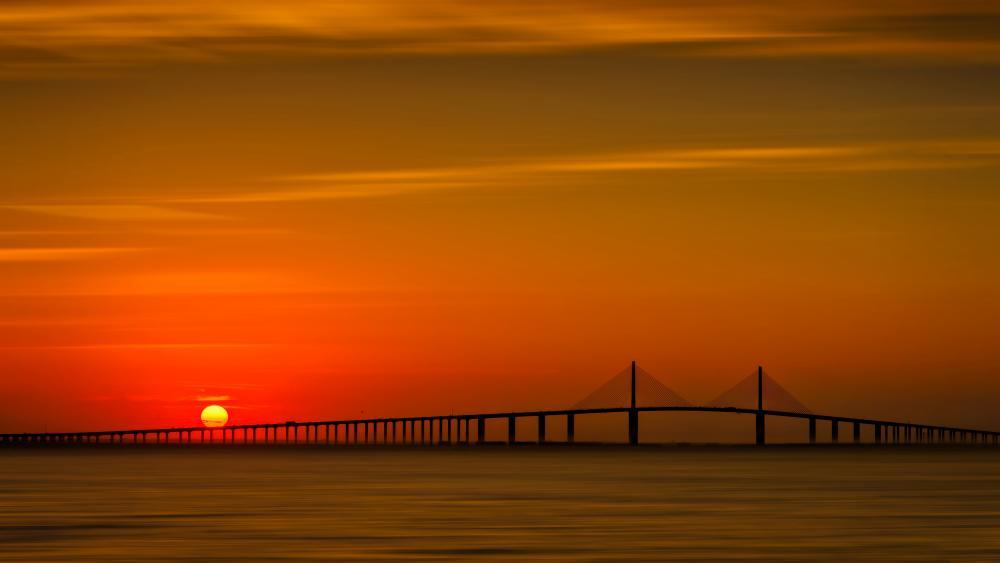 Sunshine Skyway Bridge, Florida wallpaper