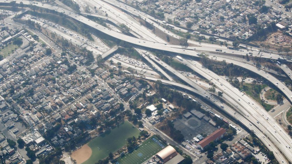 Los Angeles Freeways wallpaper