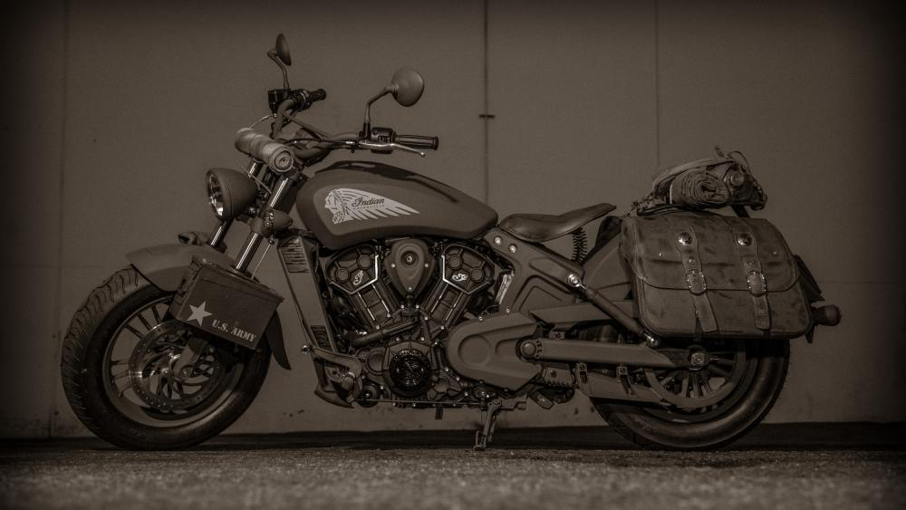 Indian 741B Call of Duty Motorcycle wallpaper
