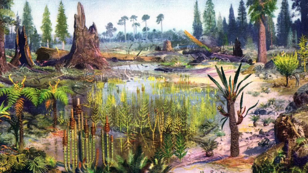 Nature Before - Digital Landscape wallpaper