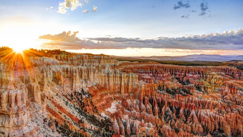 Inspiration Point, Bryce Canyon National Park wallpaper