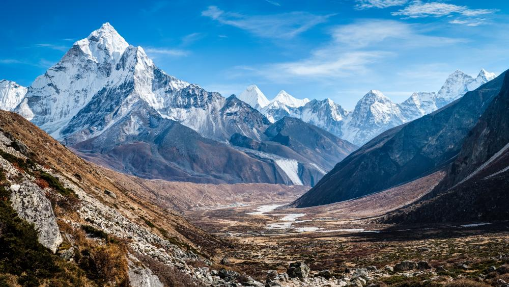Ama Dablam, Sagarmatha National Park wallpaper
