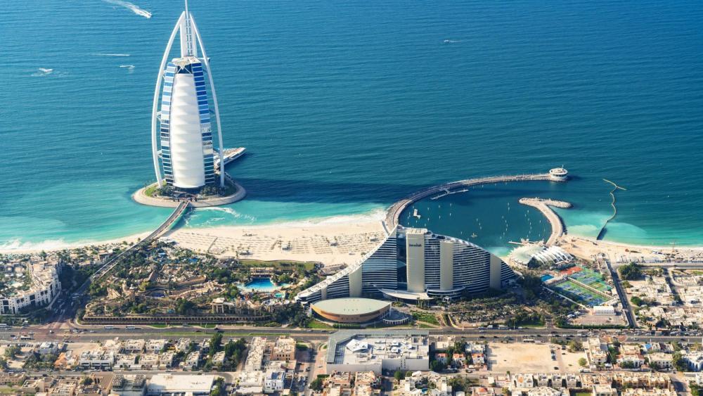 Burj Al Arab Hotel wallpaper