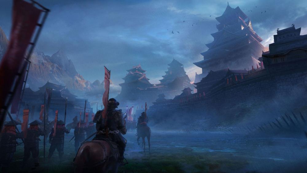 Japanese Samurai wallpaper