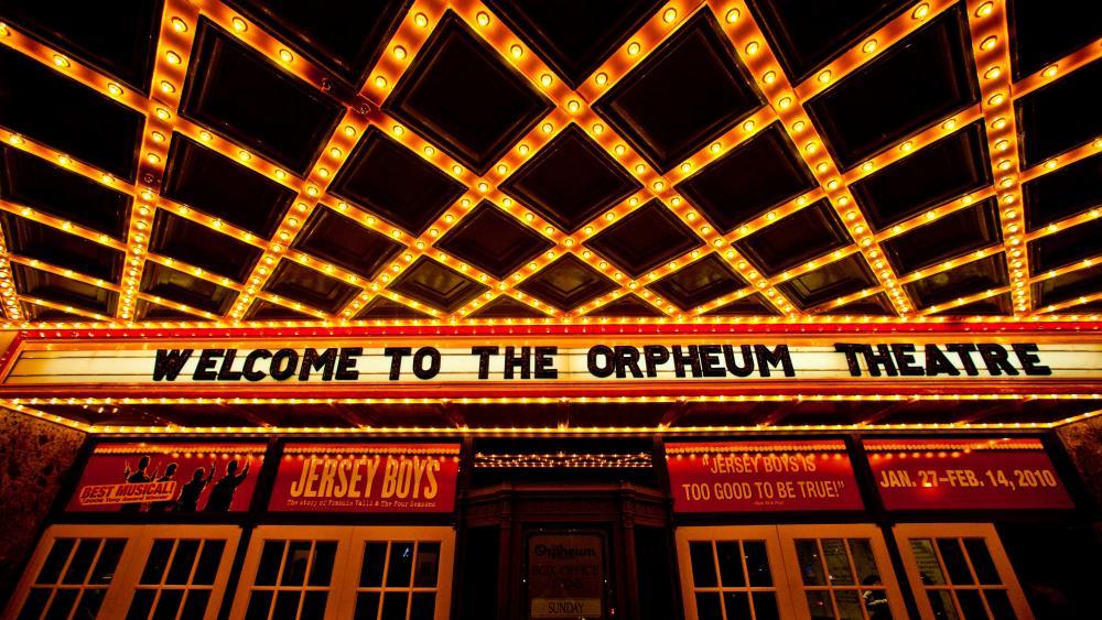 Orpheum Theatre wallpaper