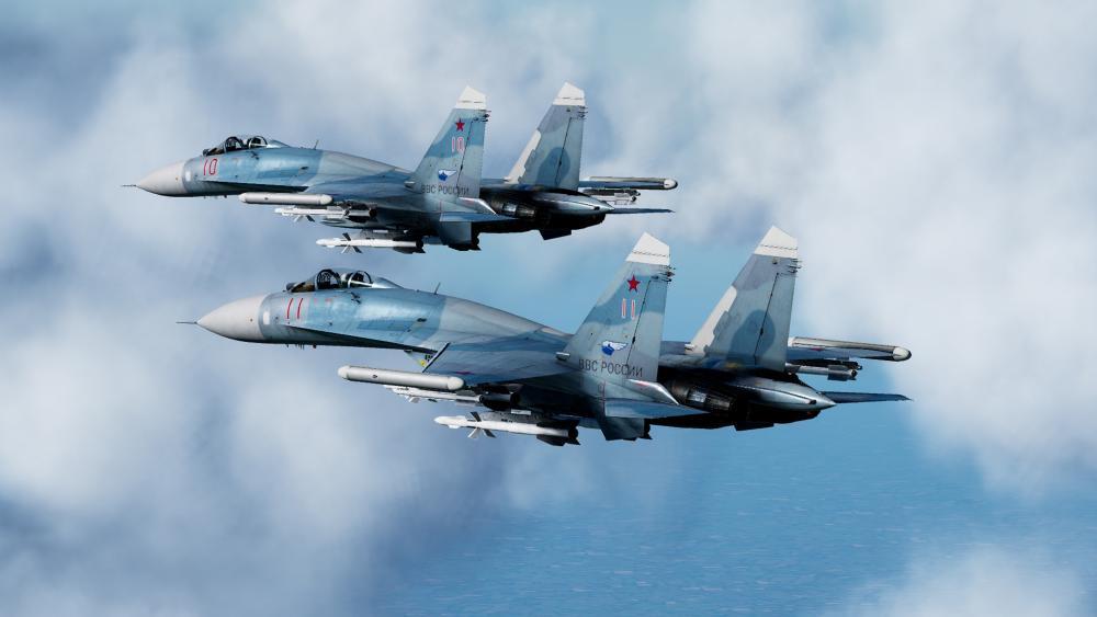 Sukhoi Su-27 wallpaper
