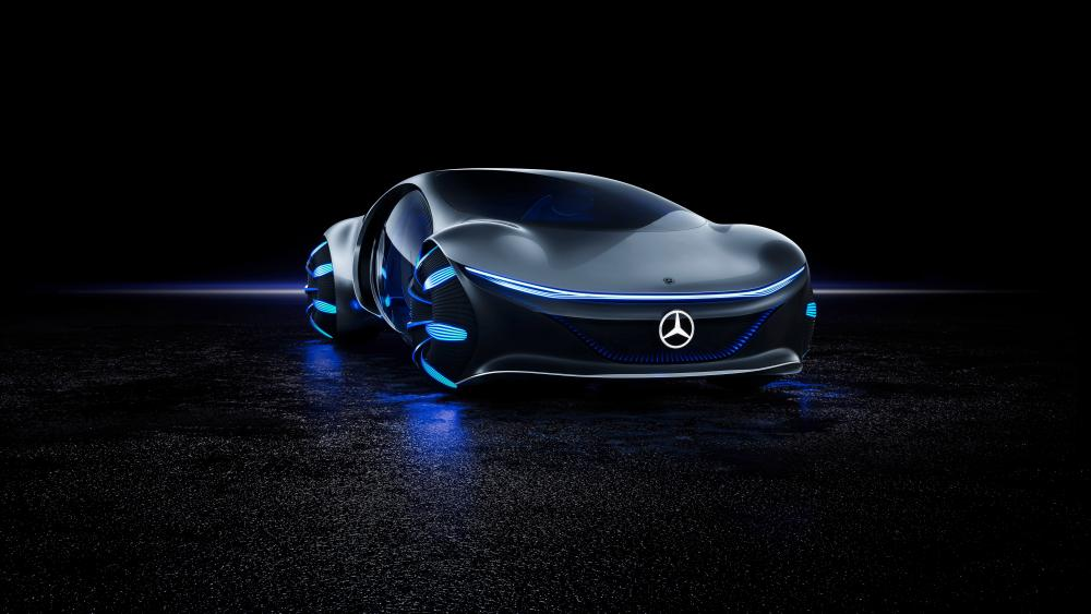 Mercedes Benz Vision wallpaper