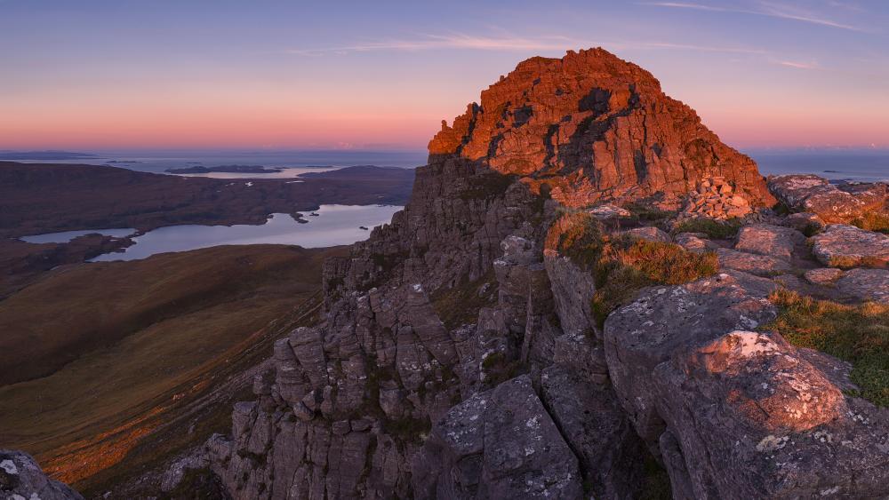 Natural beauty of Scotland wallpaper
