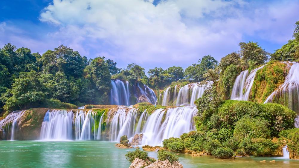 Ban Gioc–Detian Falls wallpaper