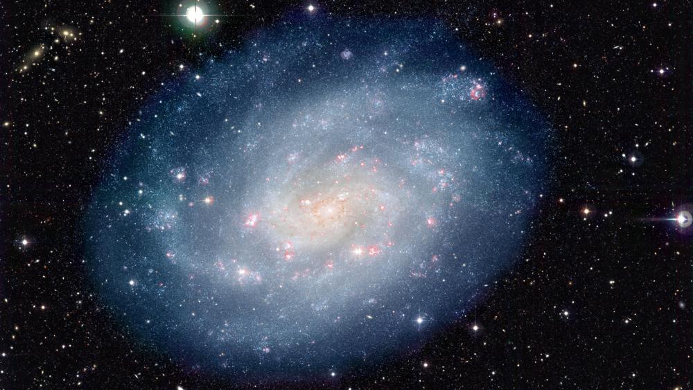 Spiral galaxy NGC 300 wallpaper