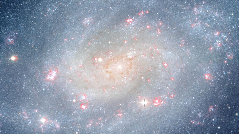 Galactic Bulge of NGC 300 wallpaper