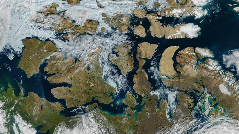 A Nearly Ice-Free Northwest Passage wallpaper