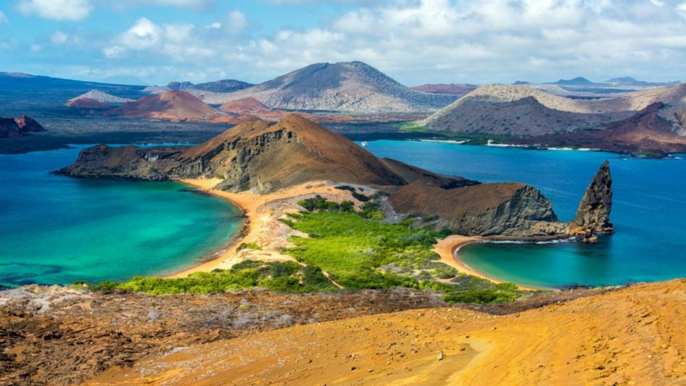 Bartolomé Island, Galápagos Islands wallpaper