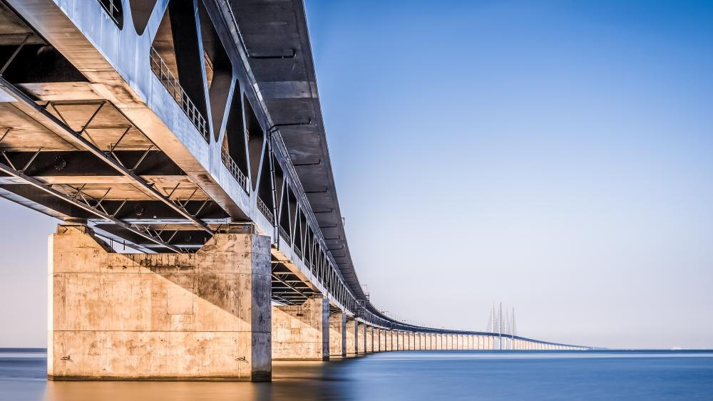 Øresund Bridge wallpaper