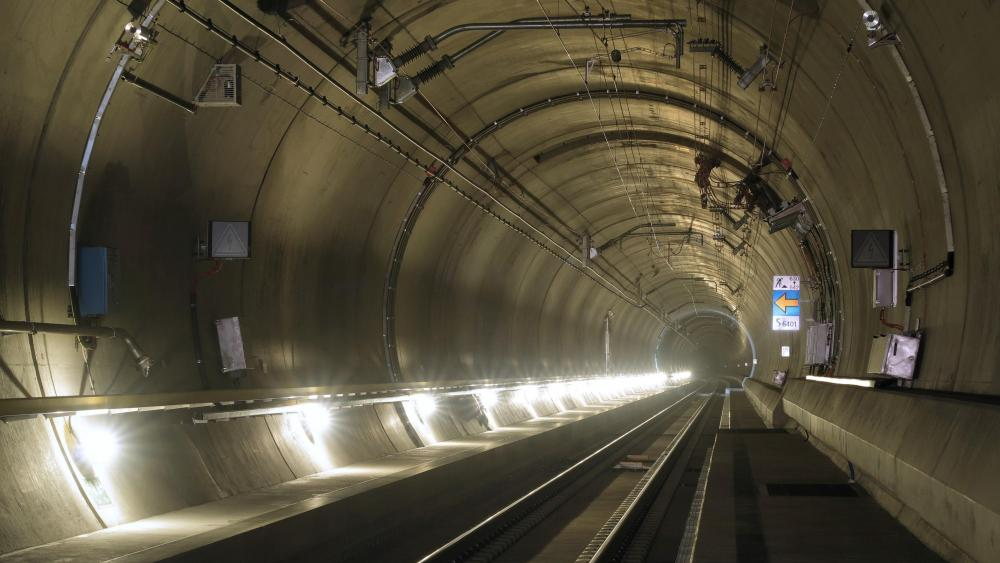 Gotthard Base Tunnel wallpaper