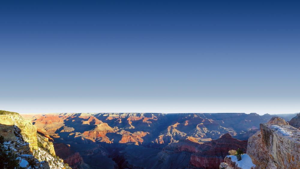 Bright Angel Trailhead, Grand Canyon wallpaper