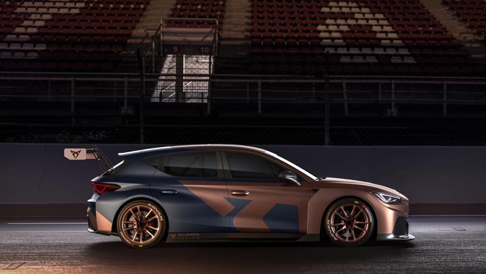 Seat Leon Cupra Competition side view wallpaper