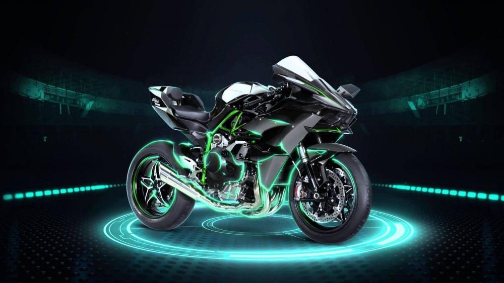 Kawasaki Ninja H2R wallpaper