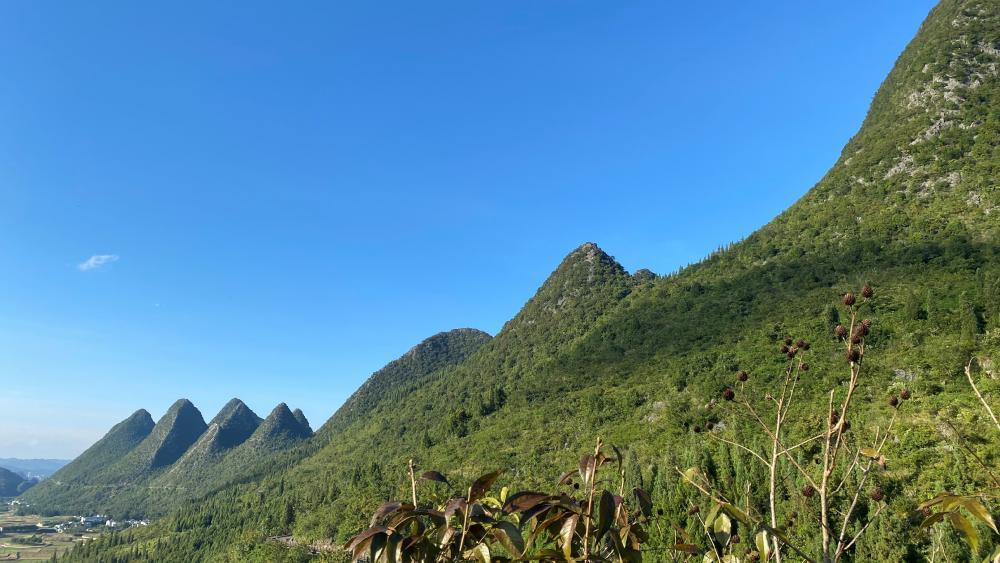 Six mountain peaks wallpaper