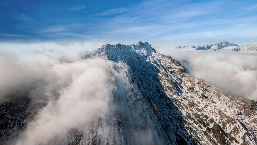 Mt. Nicholas, New Zealand wallpaper