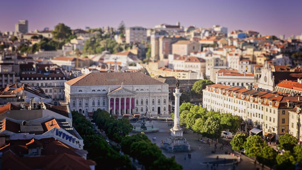 Rossio wallpaper