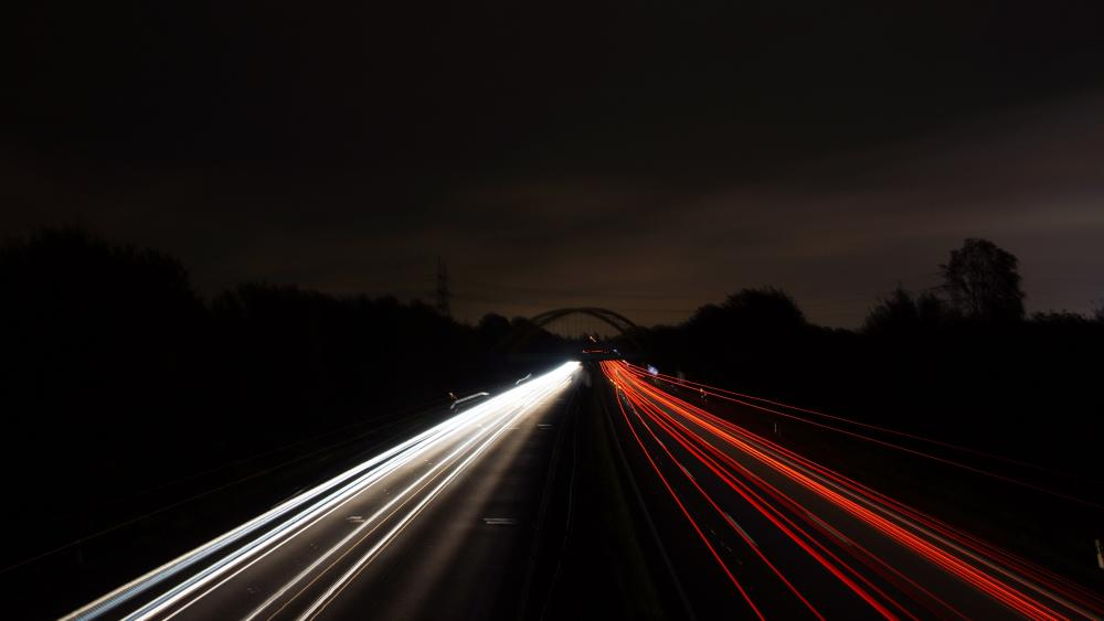 Lights of the night wallpaper