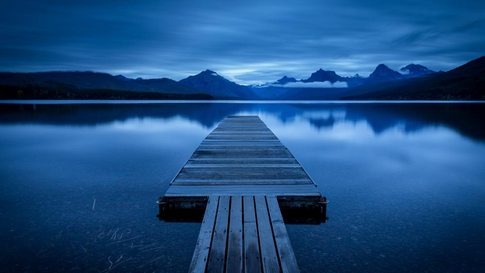 Lake McDonald, Glacier National Park wallpaper