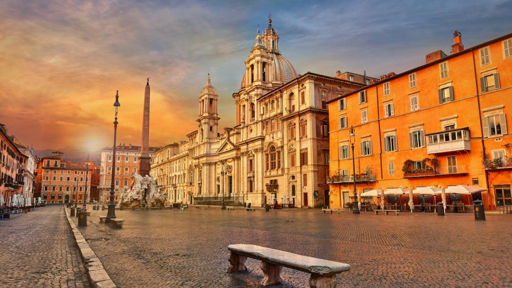 Piazza Navona wallpaper