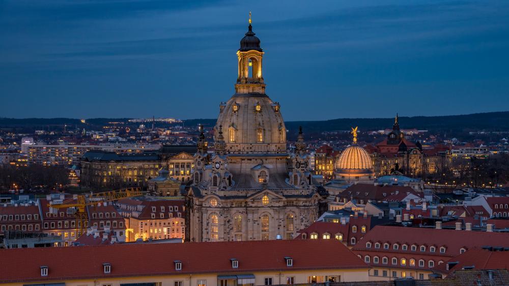 Frauenkirche Dresden wallpaper