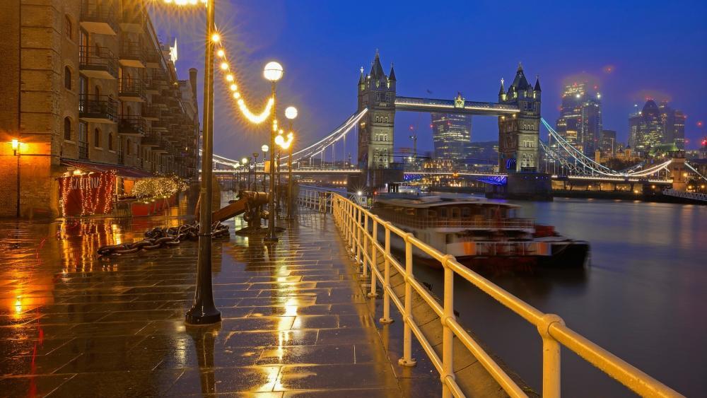 Tower Bridge, England wallpaper
