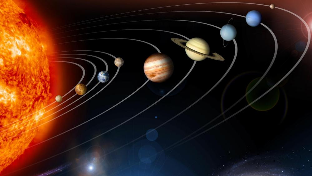 Planets of the space wallpaper