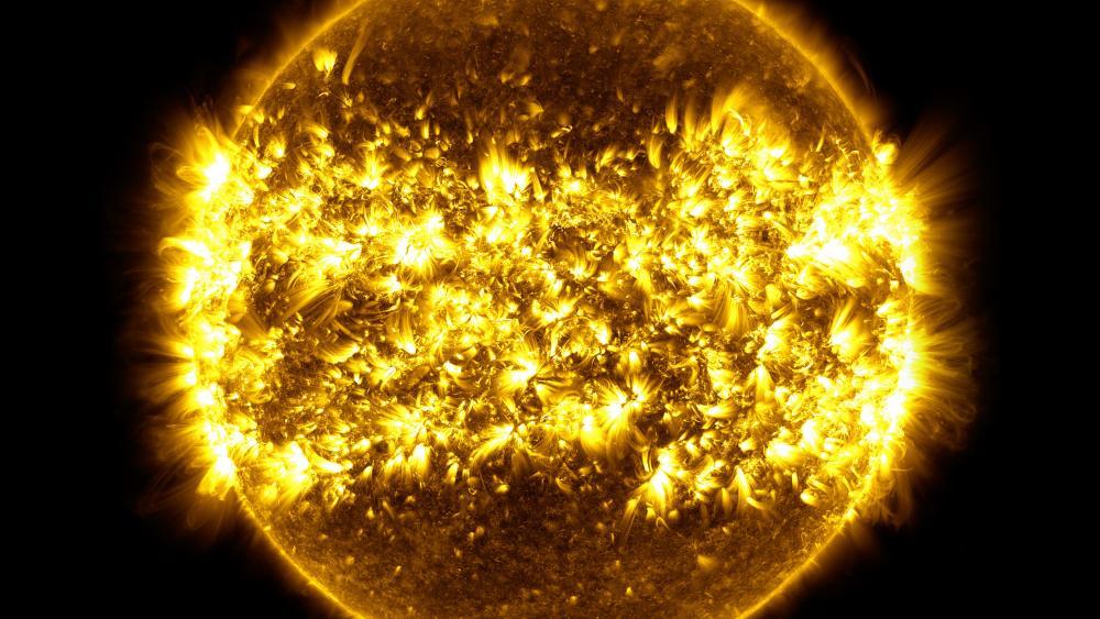 Solar Dynamics Observatory (SDO): Year 6 wallpaper