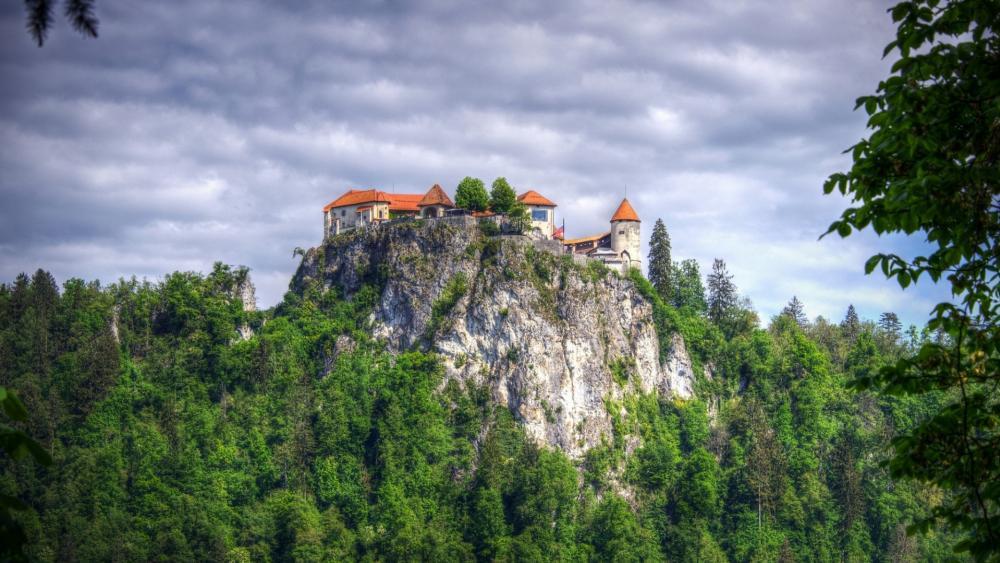 Bled Castle wallpaper