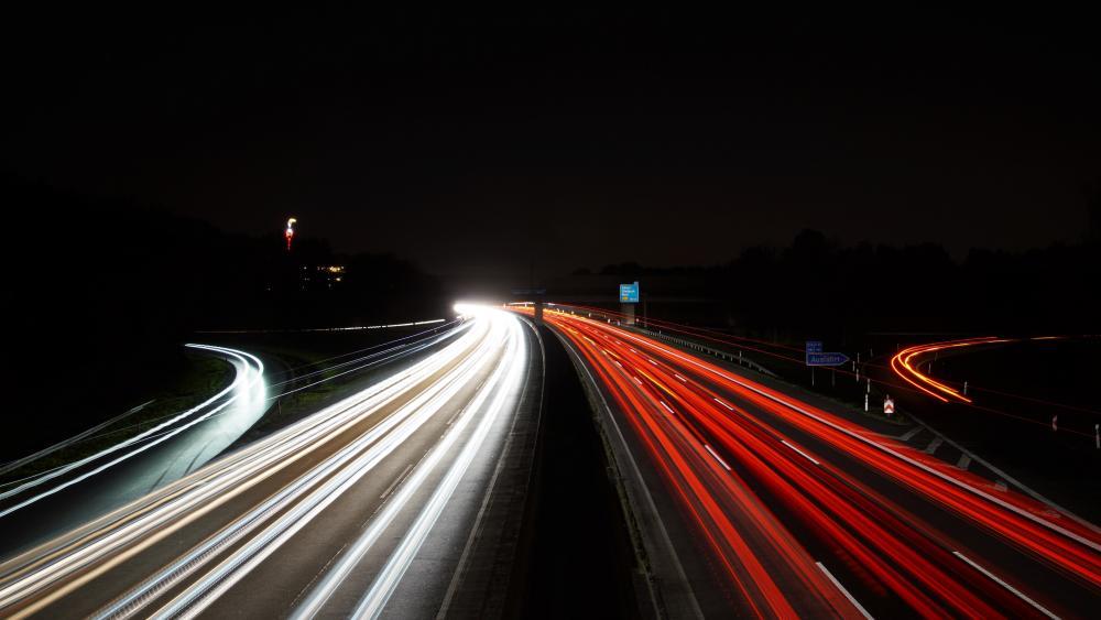 A2 motorway in Gladbeck wallpaper