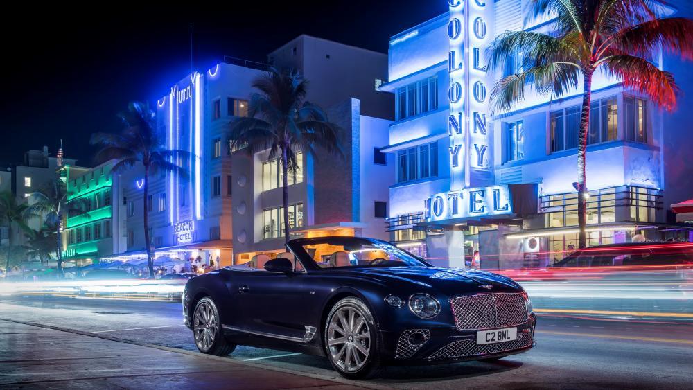Bentley Continental GT V8 Convertible wallpaper