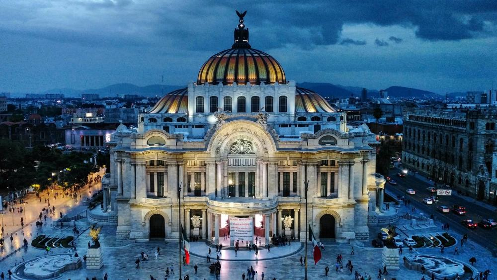 Palacio de Bellas Artes (Palace of Fine Arts) wallpaper