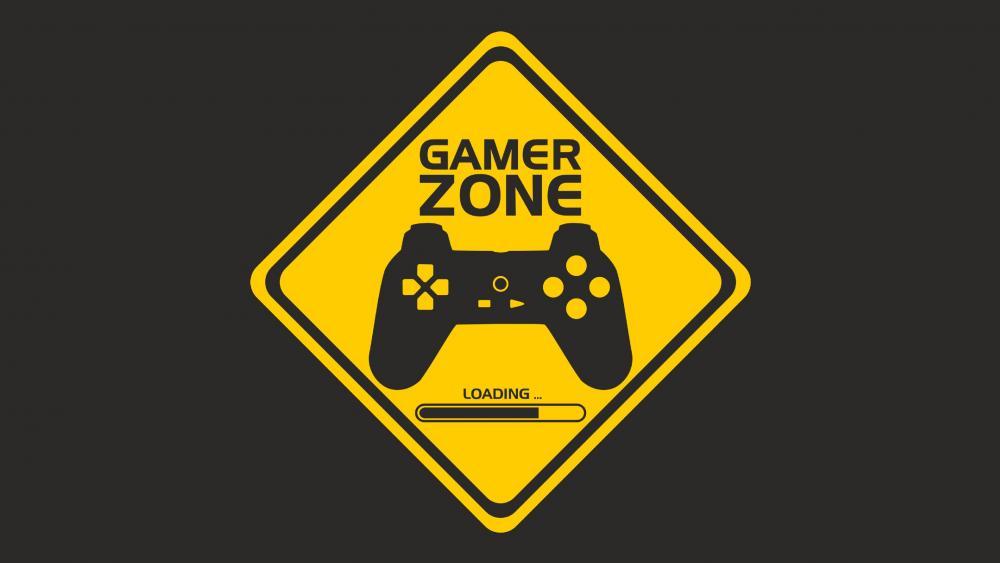 Gamer Zone wallpaper