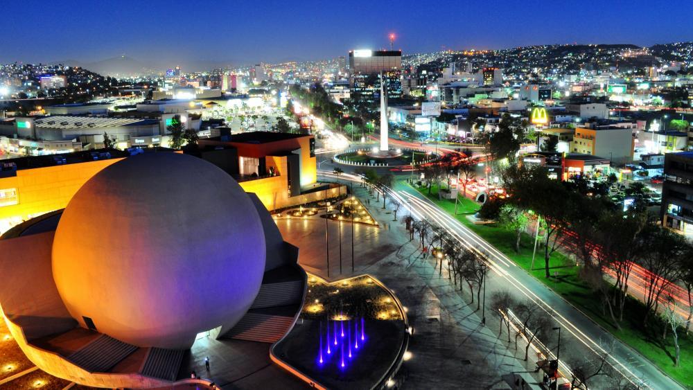 Downtown Tijuana wallpaper
