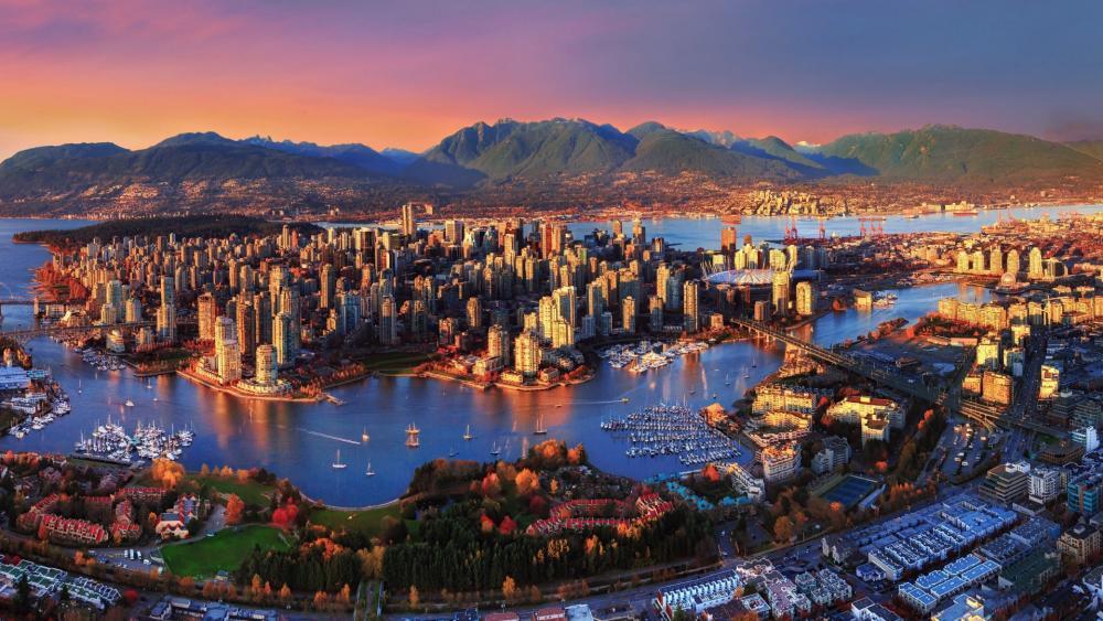 Vancouver wallpaper