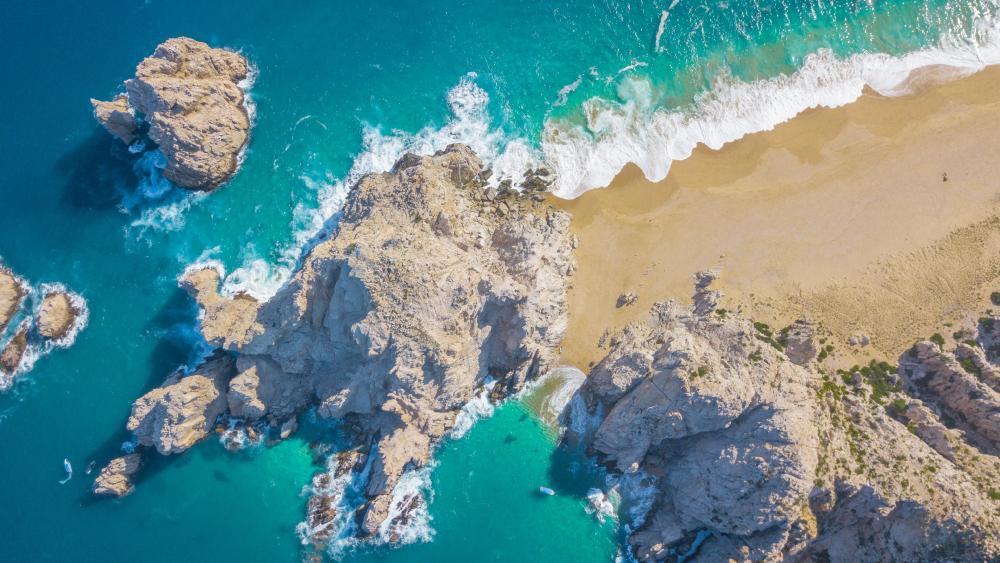 Coast of Cabo San Lucas, Mexico wallpaper