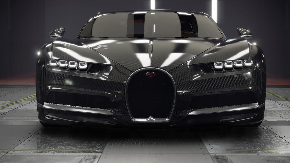 Bugatti Chiron (Carbon Edition) wallpaper
