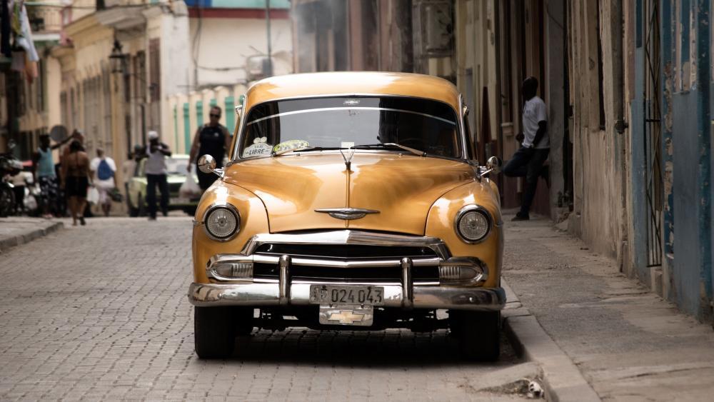Old Habana, La Habana, Cuba wallpaper