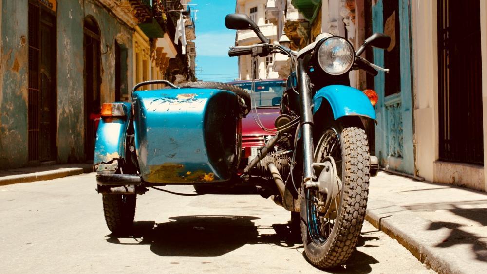 Vintage Sidecar wallpaper